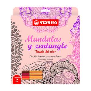 Libro Mandalas Y Zentangle Vol 2 Stabilo