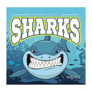 Libros Para Colorear Tiburones