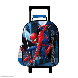 Maleta C/Ruedas Spiderman Azul (Artesco)
