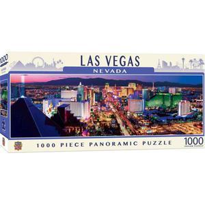 Master Pieces Rompecabezas 1000Pz Las Vegas Pano