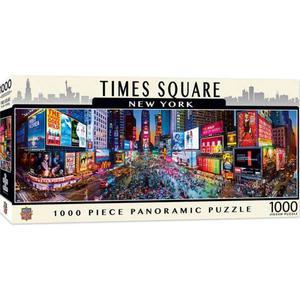Master Pieces Rompecabezas 1000Pz Time Square