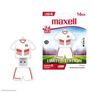 Maxell Usb 16Gb Fútbol Perú