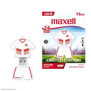 Memoria Usb 16Gb Maxell Fútbol Perú