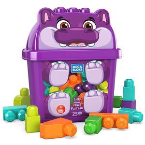 Mega Bloks Cubos Animal Hipopotamo