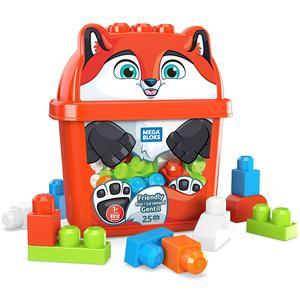 Mega Bloks Cubos Animal Zorrito Divertido