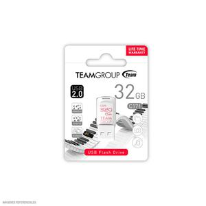 Memoria 32Gb C171 Team Usb 2.0 Blanco