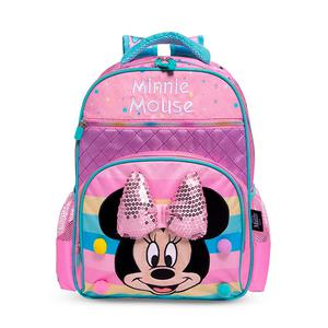 Mini Mochila Minnie Mouse Lazo 3D