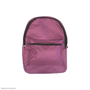 Mochila Color Entero Rosado