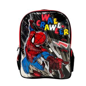 Mochila Spiderman Metal Comic Con Capucha