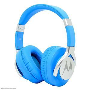 Motorola Audífono Dj Con Micrófono Pulse Max Azul