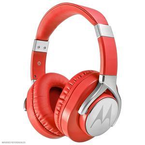 Motorola Audífono Dj Con Micrófono Pulse Max Rojo