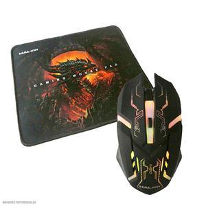 Mouse Gamer + Pad Cobra Ha-911P Usb