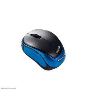 Mouse Inalámbrico Azul Batería Recargable