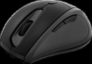 Mouse Óptico Inalambrico Con 5 Botones Klipxtreme - Negro