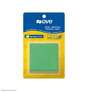 Notas Adhesivas 3X3 Neon 4 Col X 360 Hojas Ove