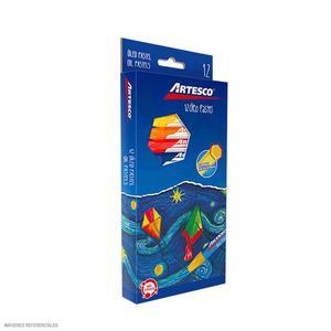 Oleo Pastel X 12 Jumbo Artesco  16314500