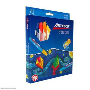 Oleo Pastel X 24 Jumbo Artesco           16314510