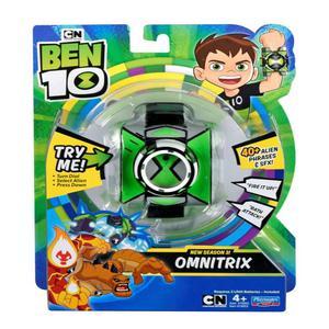 Omnitrix Con 40 Frases Season 3 Ben 10