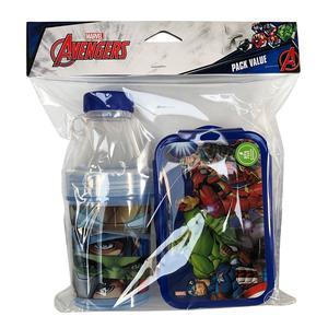 Pack X2 Taper 500Ml+Bot 400Ml Avengers Titanio
