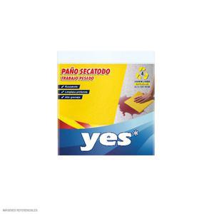 Paño Yes Absorbente Amarillo Pqt X 4 Un