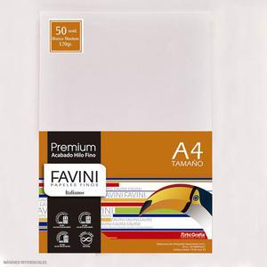 Papel 120G A-4 Premium Blanco Titanium