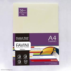 Papel 90G A-4 Contact Marfil Natural (Pack X 50)