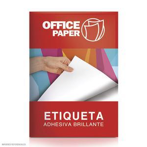 Papel Adh A4 Blanco Brillan 180Gr 100H Office Paper