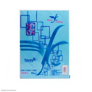 Papel Arco Iris A4 Plus Celeste