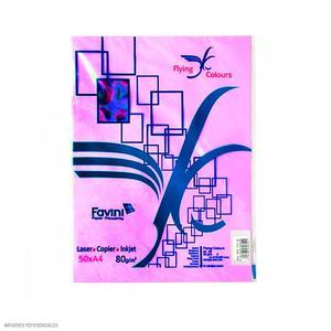 Papel Arco Iris A4 Plus Lila