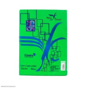 Papel Arco Iris A4 Plus Verde