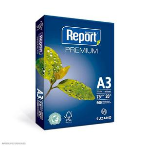 Papel Fotocopia Report 75Gr A-3 (Pack X 500)
