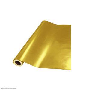 Papel Metalico Plus Dorado