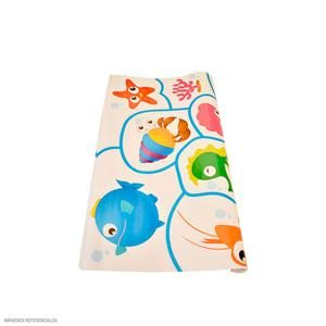 Papel Regalo Escolar Olego Animal Mar Rollox2