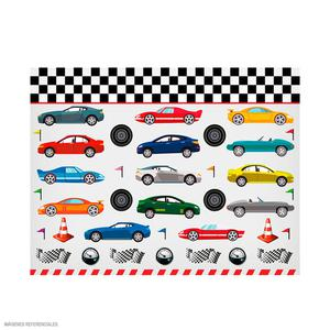 Papel Regalo Escolar Olego Carritos Rollox2