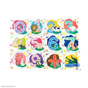 Papel Regalo Escolar Olego Num Animal Rollox2