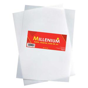 Papel Vegetal Millenium 90/95 A4 Pqx100