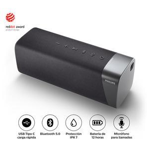 Parlantes Bluetooth Philips Tas5505 - 20W