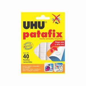 Pegamento Uhu Patafix Masilla X 40 Pastillas Tpe08