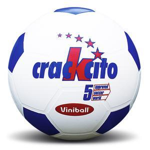 Pelota Futbol Semidep Crackcito Bco-Azul 01240