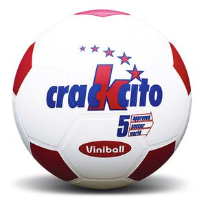 Pelota Futbol Semidep Crackcito Bco-Rojo 011019