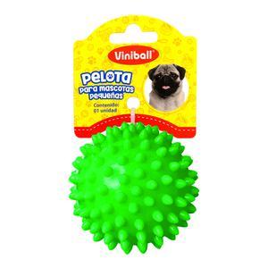 Pelota Para Mascota Peque Verde Neon
