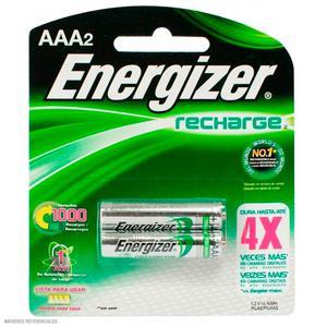 Pila Recargable Aaa X 2 Energizer