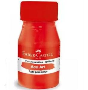 Pintura Acril Brill 30Ml Rojo Faber