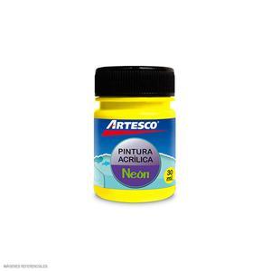 Pintura Acrilica Mate Neon 30Ml Amar Artesco
