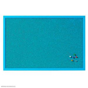 Pizarra De Corcho Azul 0.40X0.60Mt.