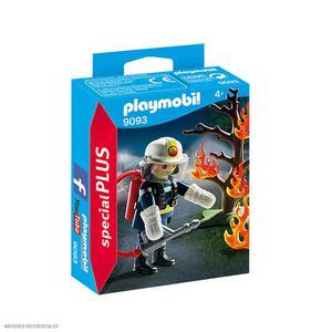 Playmobil Bombero C/Árbol En Llamas 9093