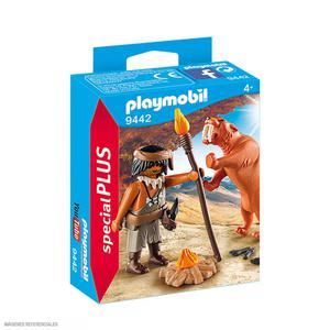 Playmobil Neandertal+Diente D/Sable 9442