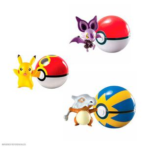 Pokemon - Clip Pokebola Figuras