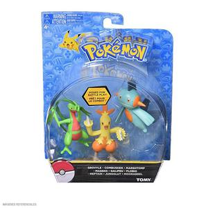 Pokemon - Figuras De Acción. Pack X 3 Und.