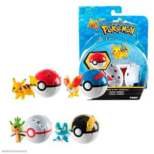 Pokemon - Pokebola Throw And Pop